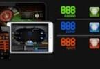 888 Casinospiele auf dem Handy